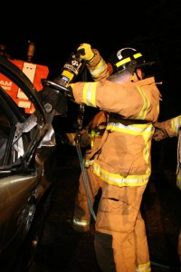Extrication Training at Station 1